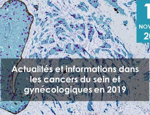 Rencontre d'informations autour des actualités dans les cancers du sein et gynécologiques