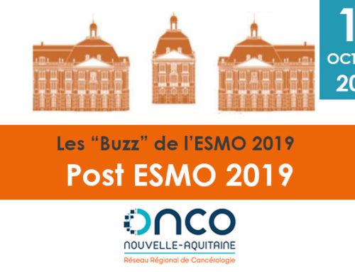 """Soirée post-ESMO """"Les buzz de l'ESMO"""""""
