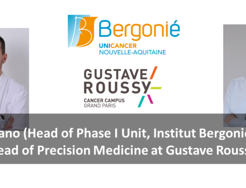 Pr Italiano (Head of Phase I Unit, Institut Bergonie), also head of Precision Medicine at Gustave Roussy