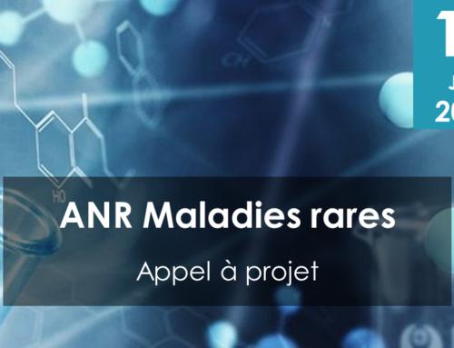Appel à projets Agence Nationale de la Recherche – Maladies rares