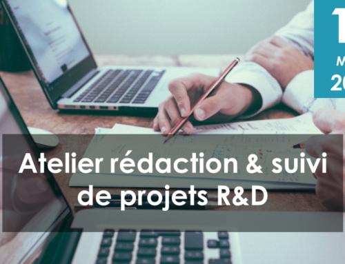 Atelier rédaction et suivi de projets R&D