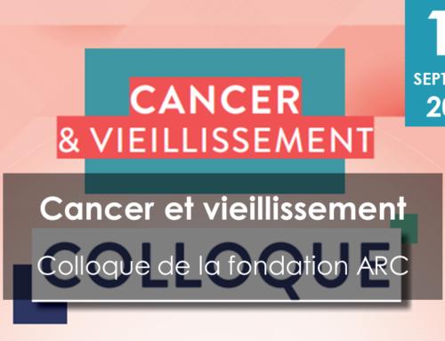 Colloque Cancer et vieillissement