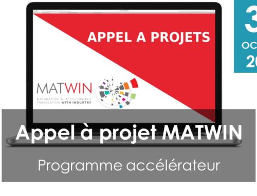 Appel à projets MATWIN