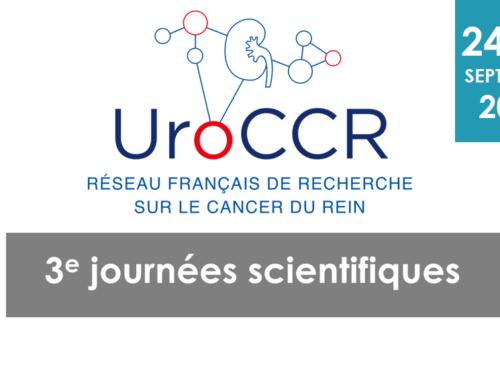 ANNULE / 3e journées scientifiques UroCCR