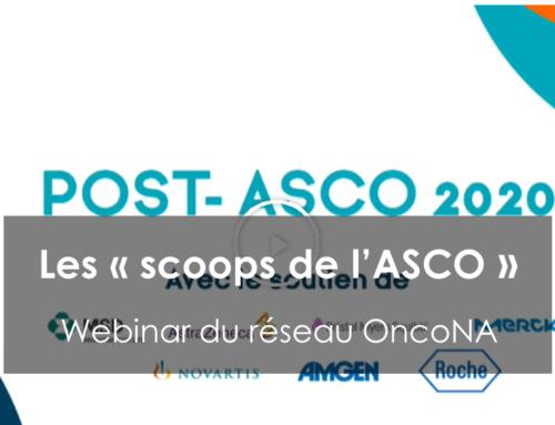 """Webinar """"les scoops de l'ASCO"""""""