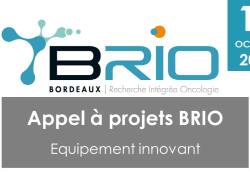 Appel à projets BRIO – Equipement innovant