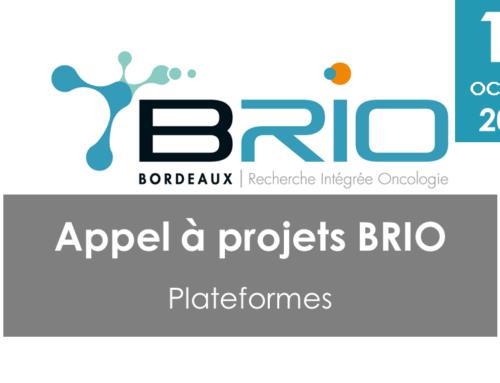 Appel à projets BRIO – plateformes