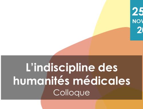Colloque : l'indiscipline des humanités médicales