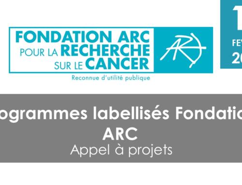 Programmes labellisés Fondation ARC