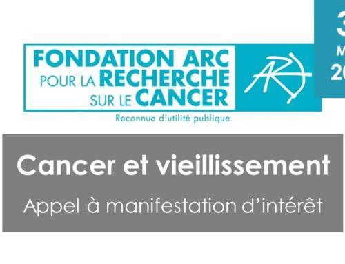 Cancer et vieillissement – Fondation ARC