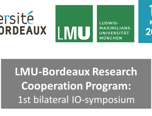 LMU Bordeaux – Research Cooperation Programm