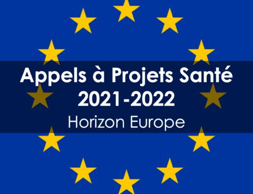 Appels à projets santé 2021-2022 Horizon Europe