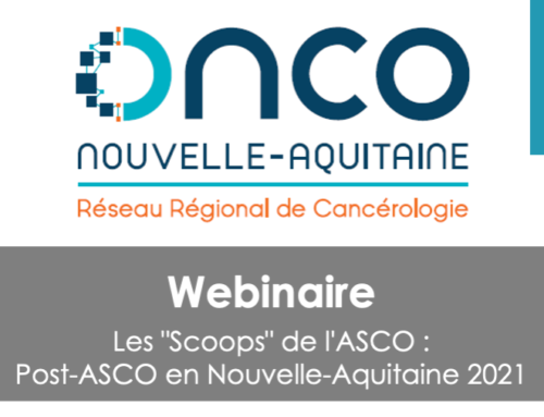 "Webinaire Les ""Scoops"" de l'ASCO – Replay"