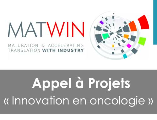 AAC « Innovation en oncologie »