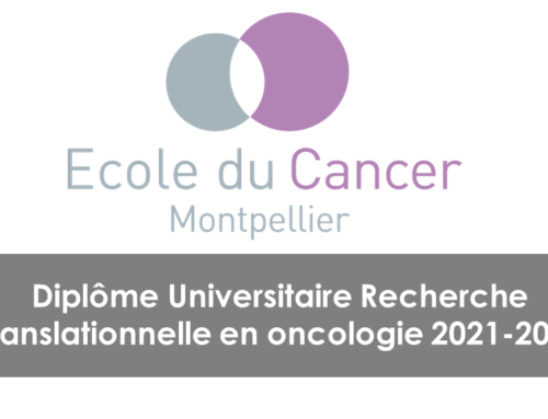 DU Recherche translationnelle en oncologie
